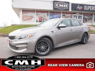 Used 2017 Kia Optima LX  CAM BT P/SEAT HTD-SEATS HTD-SW 17-AL for sale in St. Catharines, ON