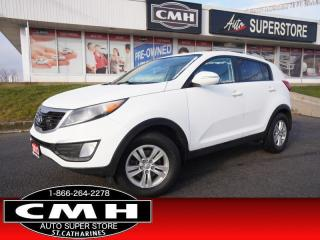 Used 2013 Kia Sportage LX  HTD-SEATS BT PWR-GROUP MANUAL 17-AL for sale in St. Catharines, ON