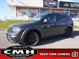 Used 2016 Dodge Journey Limited  V6 CAM BT P/SEATS HTD-SEATS 19-AL for sale in St. Catharines, ON