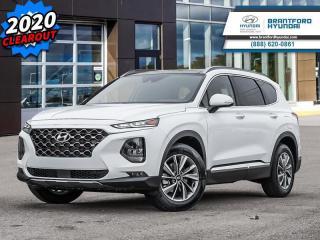 Used 2020 Hyundai Santa Fe 2.0T Luxury AWD  - $254 B/W for sale in Brantford, ON