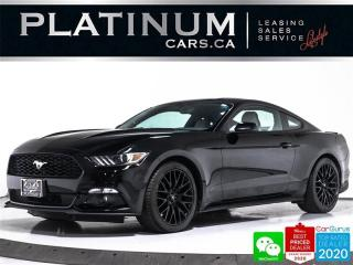 Used 2015 Ford Mustang EcoBoost Premium, 310HP, MANUAL, NAV, CAM, VENT for sale in Toronto, ON