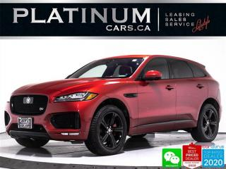 Used 2017 Jaguar F-PACE S, 380HP, TECH PKG, NAV, PANO, CAM, VENTILATED for sale in Toronto, ON