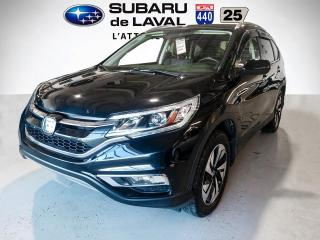 Used 2016 Honda CR-V Touring Awd ** Cuir Toit Navigaiton ** for sale in Laval, QC
