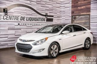 Used 2012 Hyundai Sonata Hybrid TOIT+CAM+SIEGES CHAUFF+AIR+MAGS for sale in Laval, QC