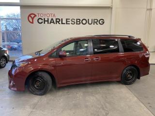 Used 2017 Toyota Sienna SE - 8 passagers - Intérieur en cuir for sale in Québec, QC