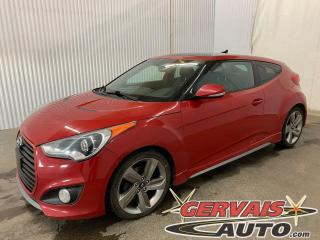Used 2013 Hyundai Veloster Turbo GPS Cuir Toit Ouvrant Mags for sale in Trois-Rivières, QC