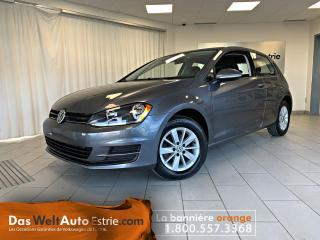 Used 2017 Volkswagen Golf 1.8 TSI Trendline, Manuel Bas Kilo! for sale in Sherbrooke, QC