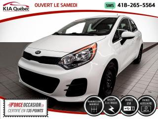 Used 2016 Kia Rio LX* 5 PORTES* GROUPE ELECTRIQUE* for sale in Québec, QC