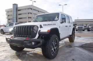 New 2021 Jeep Wrangler RUBICON UNLIMITED for sale in Swift Current, SK