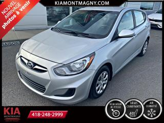 Used 2013 Hyundai Accent Voiture à hayon, 5 p boîte auto GL for sale in Montmagny, QC