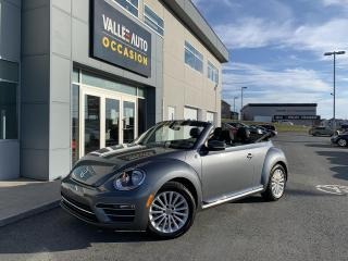 Used 2019 Volkswagen Beetle Convertible Wolfsburg Edition Auto for sale in St-Georges, QC