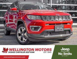 New 2021 Jeep Compass LIMITED for sale in Guelph, ON