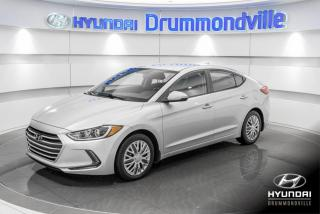 Used 2017 Hyundai Elantra GL + GARANTIE + CAMERA + A/C + CARPLAY + for sale in Drummondville, QC