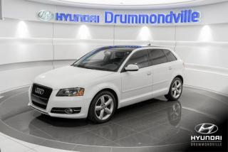 Used 2013 Audi A3 TDI PROGRESSIV + GARANTIE + TOIT PANO + for sale in Drummondville, QC