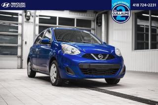 Used 2015 Nissan Micra SV chez Rimouski Hyundai for sale in Rimouski, QC