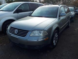 Used 2004 Volkswagen Passat Wagon GLS for sale in Pickering, ON