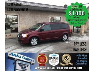 Used 2017 Dodge Grand Caravan SXT B.tooth/Stow/Satellite radio for sale in Winnipeg, MB