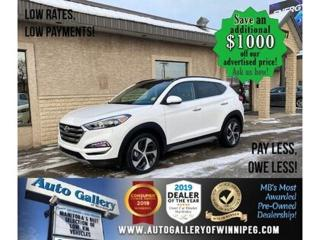 Used 2018 Hyundai Tucson Ultimate* AWD/Roof/Lthr for sale in Winnipeg, MB