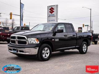 Used 2016 RAM 1500 ST Quad Cab 4x4 ~HEMI ~Trailer Tow ~Alloy Wheels for sale in Barrie, ON
