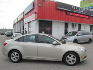 Used 2013 Chevrolet Cruze LT Turbo $6,995+HST+LIC FEE / BACK UP CAMERA / CERTIFIED for sale in North York, ON