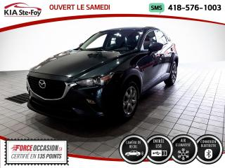Used 2017 Mazda CX-3 GX* CAMERA DE RECUL* UN SEUL PROPRIETAIR for sale in Québec, QC