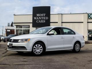 Used 2017 Volkswagen Jetta TRENDLINE|BACKUP CAMERA|TOUCHSCREEN|HEATED SEATS|BLUETOOTH for sale in Kitchener, ON