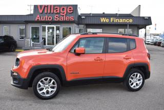 Used 2016 Jeep Renegade North BACK-UP CAMERA! CRUISE CONTROL! 4X4! for sale in Saskatoon, SK