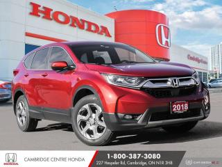 Used 2018 Honda CR-V EX HONDA SENSING TECHNOLOGIES | APPLE CARPLAY™ & ANDROID AUTO™ | HEATED SEATS for sale in Cambridge, ON