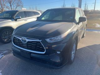 New 2020 Toyota Highlander Hybrid LE AWD for sale in Portage la Prairie, MB