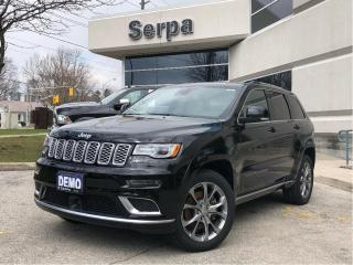 Used 2020 Jeep Grand Cherokee Summit |NAV|PANOROOF|20S|SIGLEATHER|HEMI| for sale in Toronto, ON