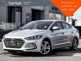 Used 2018 Hyundai Elantra Limited Infinity Sound Sunroof Navigation Active Assists for sale in Thornhill, ON