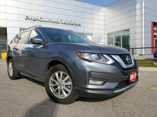Used 2017 Nissan Rogue SV LOW KM 1 OWNNER ACCIDENT FREE TRADE. NISSAN CERTIFIED PREOWNED. for sale in Toronto, ON