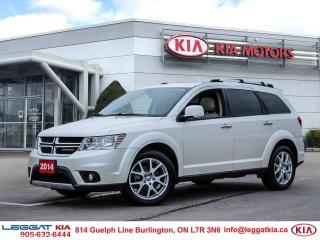Used 2014 Dodge Journey R/T | AWD | 3RD ROW SEATS | HEATED SEATS | HEATED STEERING WHEEL | NAVI | SUNROOF | for sale in Burlington, ON