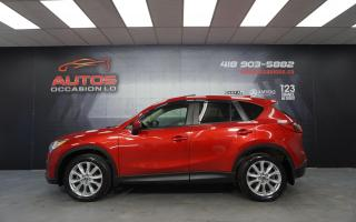 Used 2015 Mazda CX-5 GT AWD CUIR TOIT OUVRANT CAMERA BOSE 134 120 KM !! for sale in Lévis, QC
