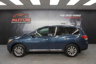 Used 2015 Nissan Pathfinder SL 4WD 7 PASSAGERS + CUIR + CAMERA MAGS 138 587 KM for sale in Lévis, QC