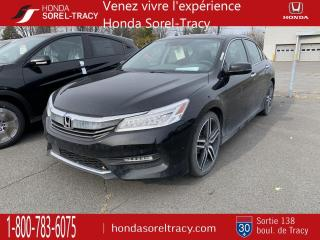 Used 2017 Honda Accord TOURING CVT CUIR GPS DÉMAREUR TOIT 72.66 for sale in Sorel-Tracy, QC