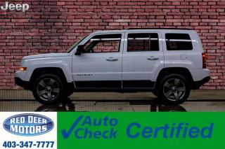 Used 2015 Jeep Patriot 4x4 High Altitude Leather Roof for sale in Red Deer, AB