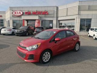 Used 2016 Kia Rio LX+ BLUETOOTH **A/C **VITRE ELECTRIQUE**USB for sale in Mcmasterville, QC