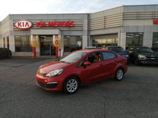 Used 2016 Kia Rio LX+ CRUISE A/C GROUPE ELECTRIQUE for sale in Mcmasterville, QC