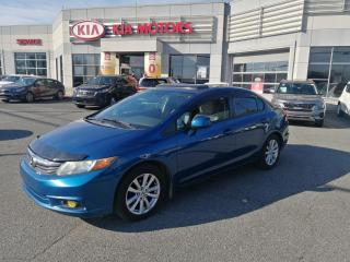 Used 2012 Honda Civic EX**TOIT OUVRANT **BAS KILOMÉTRAGE **MAG**3M for sale in Mcmasterville, QC