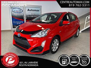 Used 2017 Toyota Prius c C ( frais vip 395$ non inclus) for sale in Rouyn-Noranda, QC