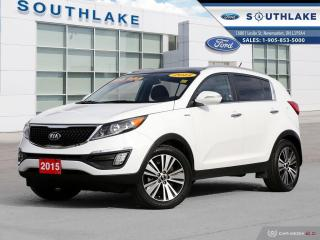Used 2015 Kia Sportage EX LOADED LEATHER ROOF for sale in Newmarket, ON
