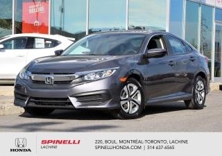 Used 2017 Honda Civic LX DEAL PENDING AUTO CRUISE BLUETOOTH *SIEGES CHAUFFANTS*AC*AUTO*CAMERA*BLUETOOTH* for sale in Lachine, QC