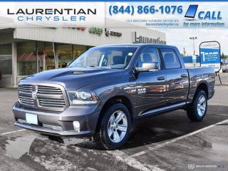 Used 2016 RAM 1500 Sport!!  HEATED WHEEL!!  4WD!! for sale in Sudbury, ON
