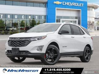 New 2021 Chevrolet Equinox Premier REDLINE EDITION | TURBO | AWD | HEATED SEATS | BLIND SPOT SENSOR | REAR VIEW CAMERA for sale in London, ON