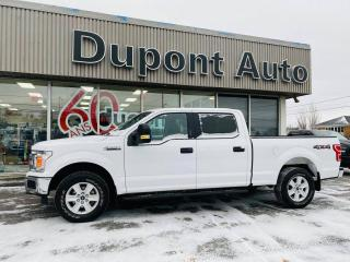 Used 2018 Ford F-150 XL cabine SuperCrew 4RM caisse de 6,5 pi for sale in Alma, QC