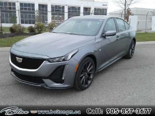 New 2021 Cadillac CTS Sport - Navigation - Sunroof - $363 B/W for sale in Bolton, ON