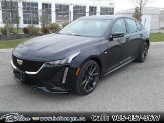 New 2020 Cadillac CTS Sport - Sunroof - $336 B/W for sale in Bolton, ON
