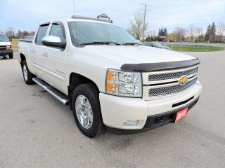 Used 2013 Chevrolet Silverado 1500 LTZ Leather Sunroof Navigation Loaded for sale in Gorrie, ON