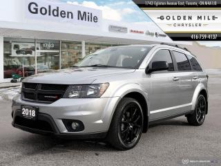Used 2018 Dodge Journey SXT Black Top Pkg, One Owner, No accidents for sale in North York, ON